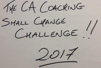 CA Coaching Small Change Challenge 2017